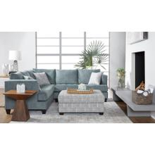 HUGHES FURNITURE 16400LFS-RSF  2-Piece Excellence Cerulean Sectional Sofa