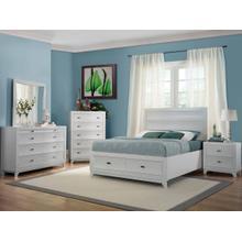 Zandra Kg Storage Bed, Dresser, Mirror and Nightstand