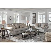 ASHLEY 4870138-135-125G Olsberg Steel Group Sofa, Loveseat & Recliner