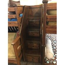 Storage Staircase American Chestnut