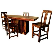 Buffalo 5 Piece Counter Height Dining - Table and 4 Srools
