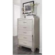 See Details - Lonnix Five Drawer Chest