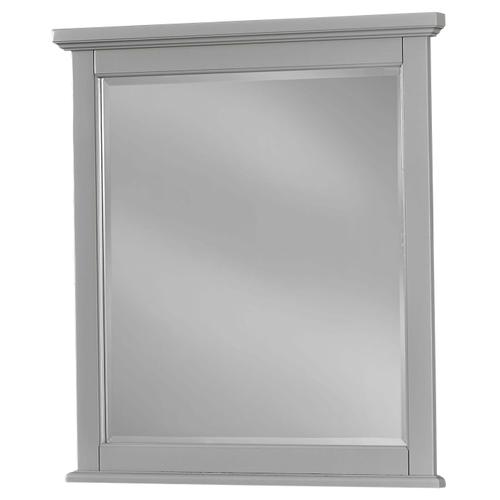 Grey Small Landscape Mirror