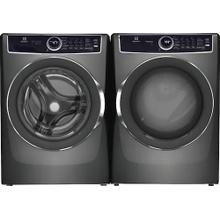 See Details - Eletrolux LuxCare 5 Series Front Load Laundry Set in Titanium