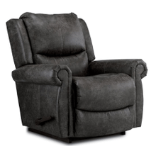 Duncan Rocking Recliner in Steel     STOCK SPECIAL (10-746-RE994756,40091)