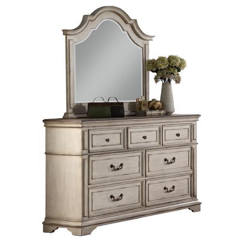 Anastasia 4 Pc. California King Bedroom Set Antique Bisque