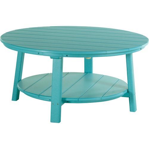 Deluxe Conversation Table Aruba Blue