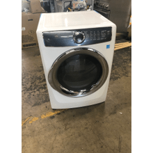 View Product - Front Load Perfect Steam Electric Dryer with PredictiveDry and Instant Refresh - 8.0. Cu. Ft.