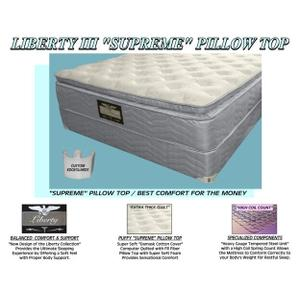 Liberty III Supreme Pillow Top - King