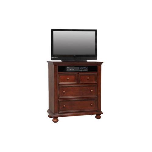 Cape Cod Chocolate 3-Drwer TV Chest