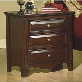 3 drawer Cherry Nightstand