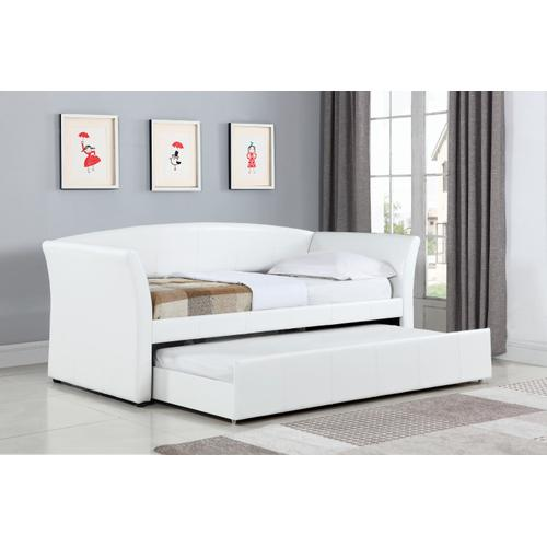 Upholstered Twin Daybed w/ Trundle