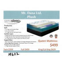 Ashely Mt. Dana Ltd. Plush Mattress by Sierra Sleep
