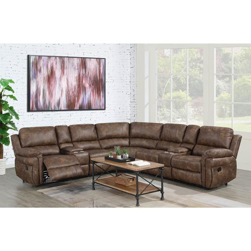 Cardinal Toffee Sectional