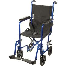 See Details - Aluminum Transport Chair