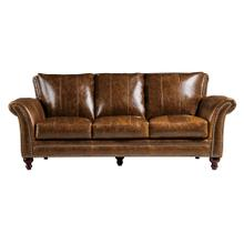 See Details - 2239 Butler Sofa 5507 Brown (100% Top Grain Leather)