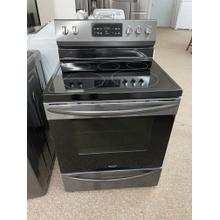 See Details - Frigidaire Gallery 30'' Freestanding Electric Range with Steam Clean
