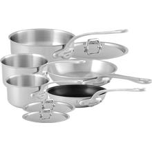 Mauviel M'Urban Stainless Steel Tri-Ply Cookware 8-Piece Set