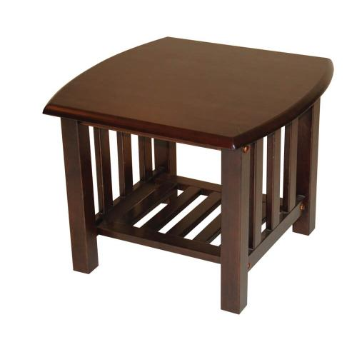 Kodiak Furniture - Mission End Table in Espresso