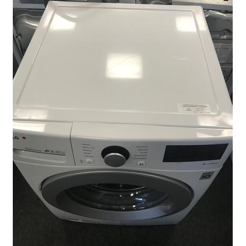 LG - LG 4.5-cu ft High Efficiency Stackable Front-Load Washer & 7.4-cu ft Stackable Electric Dryer (sold as set)