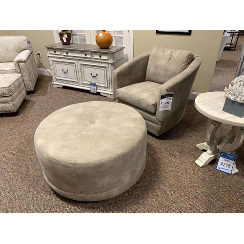 Craftmaster Furniture - Bucket Chair and Ottoman