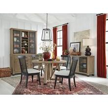 """See Details - 48"""" Round Table & 4 Chairs"""
