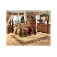 6pc. Ashley Bedroom w/ Rails