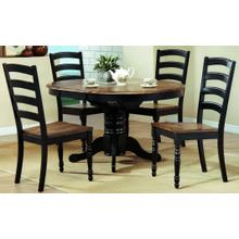 Cambridge 5 Piece Round Dining - Table and 4 Chairs