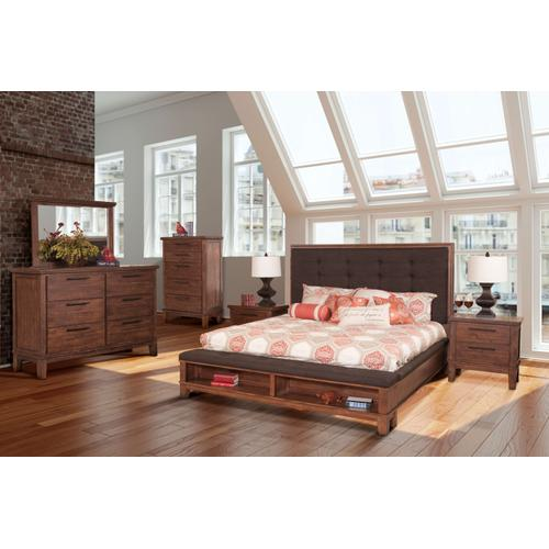 Cagney King Bed