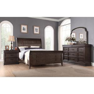 Xcalibur Queen Sleigh Bed