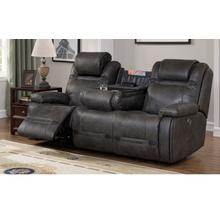 PRIME A454U-405-676RS Badlands Charcoal Power Reclining Sofa