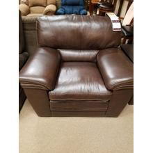 See Details - 1406 Mitchell Leather Chair Brown LRLCHA162