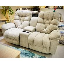 See Details - BOLT  Reclining Console Loveseat in Grey     (L710RC7-19043A,27893)