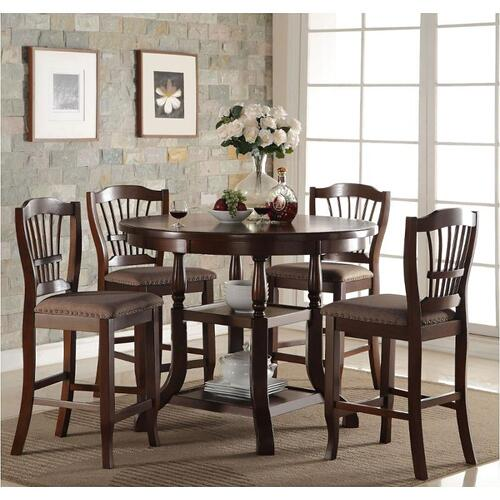 Bixby 5 piece Counter Height Dining Group
