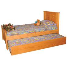 Childs Panel Bed with Trundle