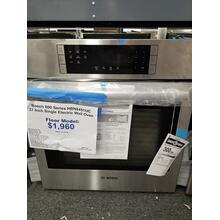 "Bosch 800 Series 27"" Single Electric Wall Oven HBN8451UC (FLOOR MODEL)"