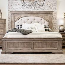 See Details - Highland Park Queen Size Bed with Tufted Headboard