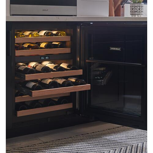 "Sub-Zero - 24"" Designer Undercounter Wine Storage - Panel Ready"