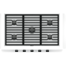 """See Details - 36"""" Contemporary Gas Cooktop - 5 Burners"""