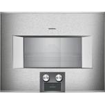 400 Series Combi-steam Oven 24'' Door Hinge: Left, Door Hinge: Left, Stainless Steel Behind Glass