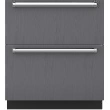 "See Details - 30"" Designer Refrigerator/Freezer Drawers - Panel Ready"