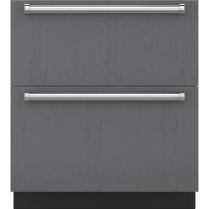 "Subzero30"" Designer Refrigerator/Freezer Drawers - Panel Ready"
