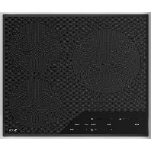 """Wolf - 24"""" Transitional Framed Induction Cooktop"""