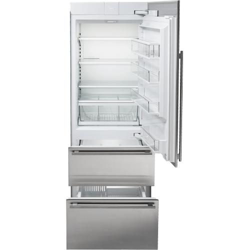 "Sub-Zero - 30"" Designer Over-and-Under Refrigerator/Freezer - Panel Ready"