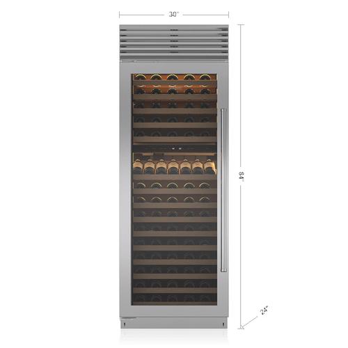 "Sub-Zero - 30"" Classic Wine Storage"
