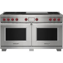 """See Details - 60"""" Dual Fuel Range - 6 Burners and French Top"""