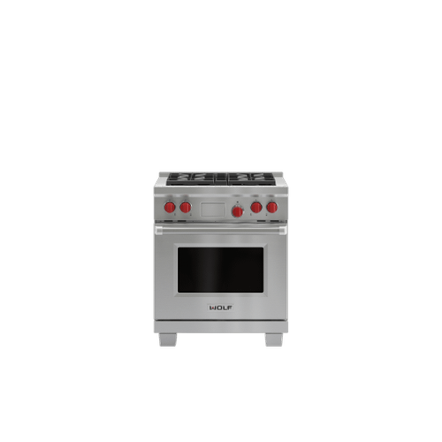 "Legacy Model - 30"" Dual Fuel Range - 4 Burners"