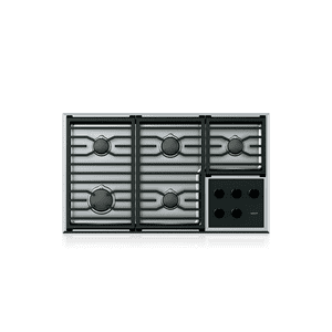 """Wolf - 36"""" Transitional Gas Cooktop - 5 Burners"""