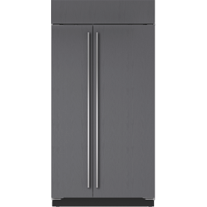"Subzero42"" Classic Side-by-Side Refrigerator/Freezer with Internal Dispenser - Panel Ready"