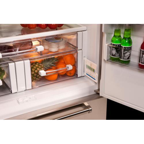 "Sub-Zero - 42"" Classic French Door Refrigerator/Freezer with Internal Dispenser"